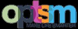 OPTSM | Make Life Smarter Logo