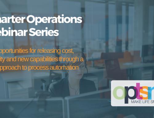 Smarter Operations Webinar Series